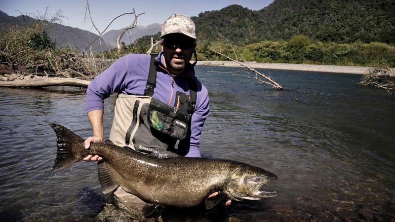 Fliegenfischen Tour am Rio Petrohué Chile