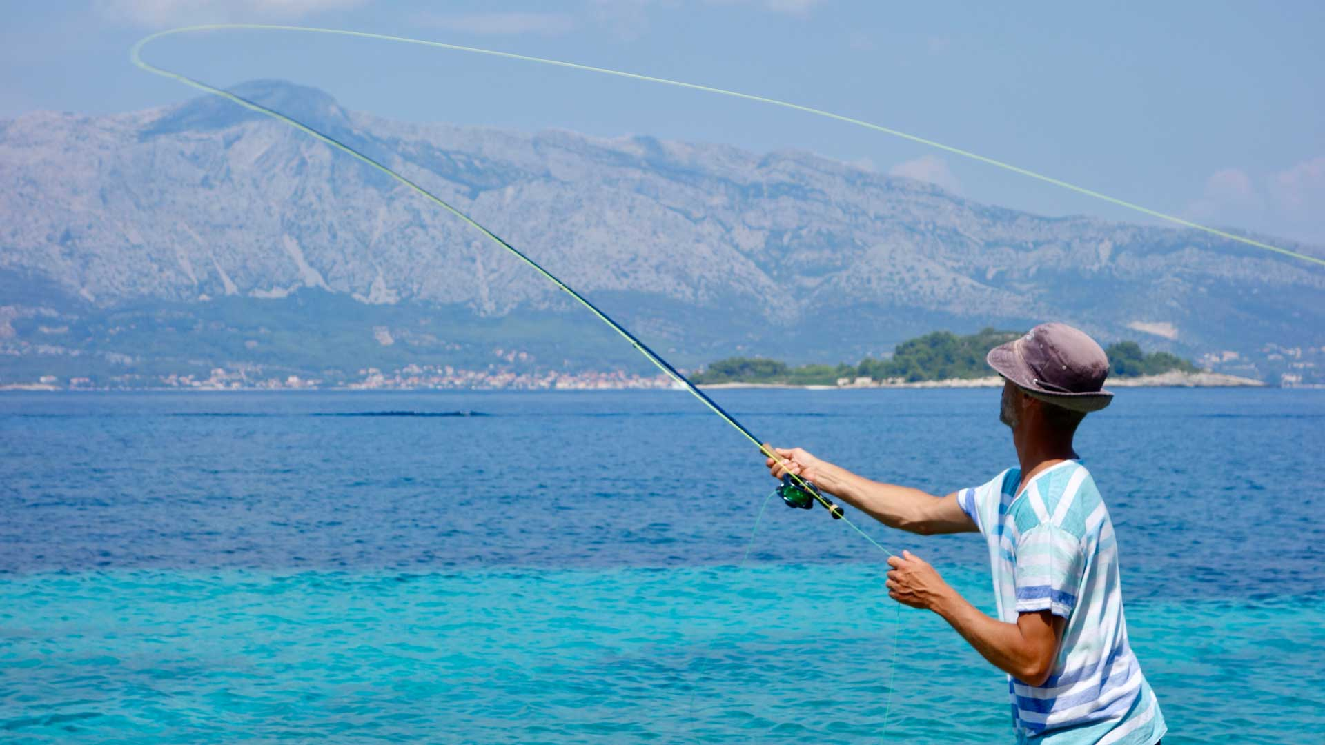 Fly Fishing in the Mediterranean Sea
