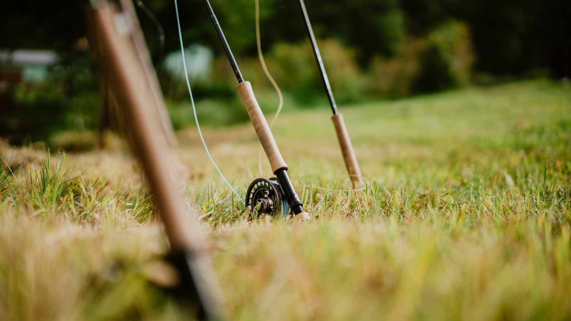 Fliegenruten für den Wurfkurs